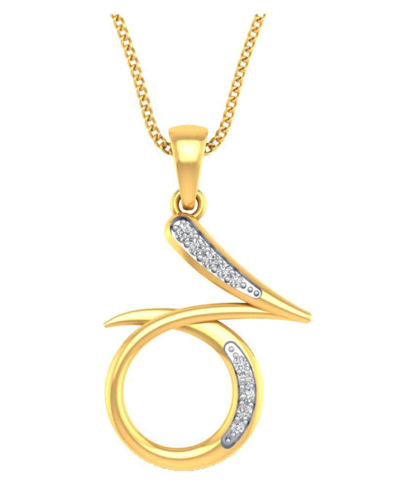 P.N.Gadgil Jewellers 18k BIS Hallmarked Yellow Gold Necklace