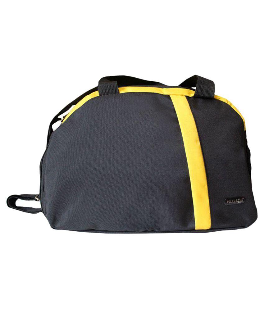 Pharaoh Black Medium Fabric Gym Bag