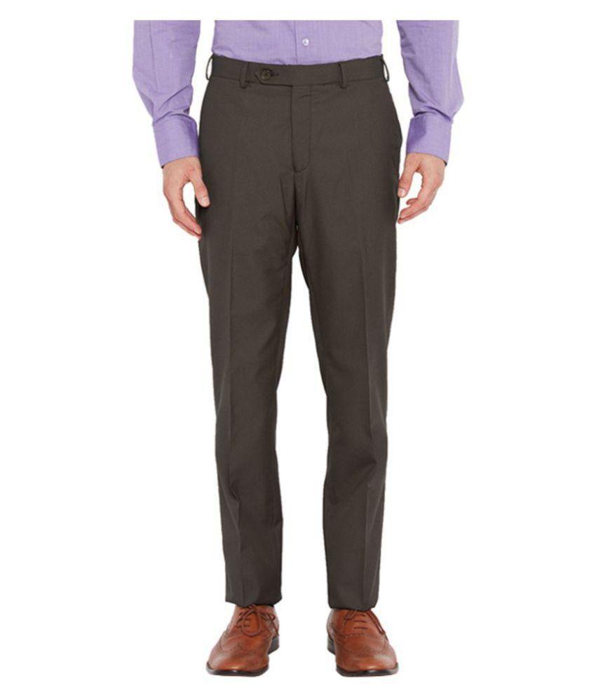 Raymond Brown Regular Pleated Trouser