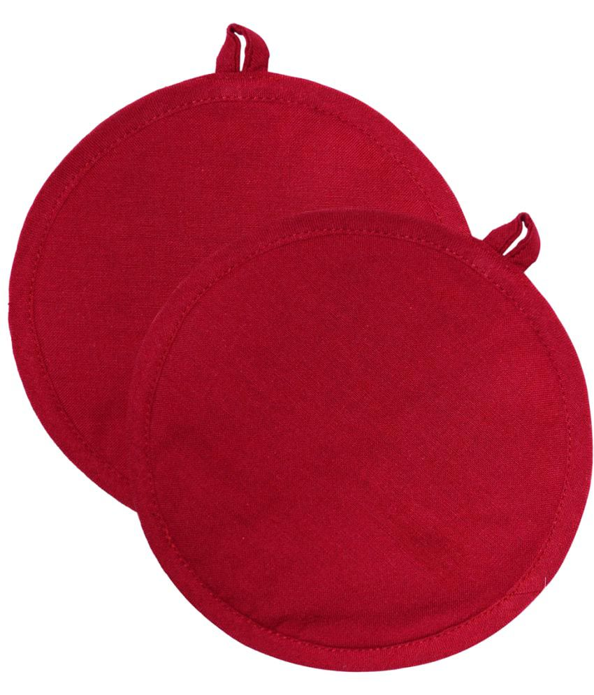 Ocean Collection Red Cotton Pot Holder - 2 Pieces