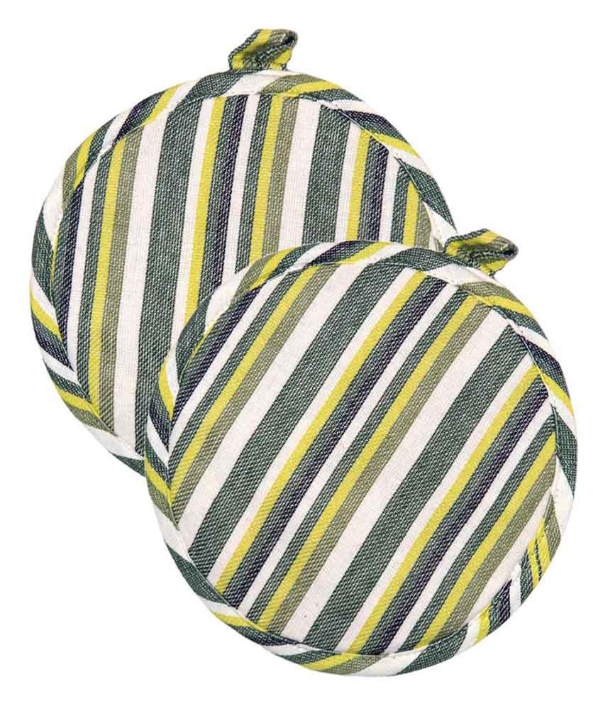 Ocean Collection Multicolor Pot Holder - Pack of 2