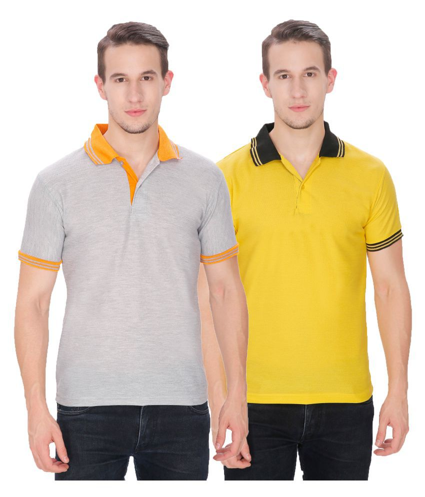 Baremoda Multi Regular Fit Polo T Shirt