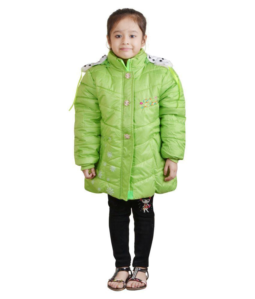 Crazeis Girl's Full Sleeve Jacket