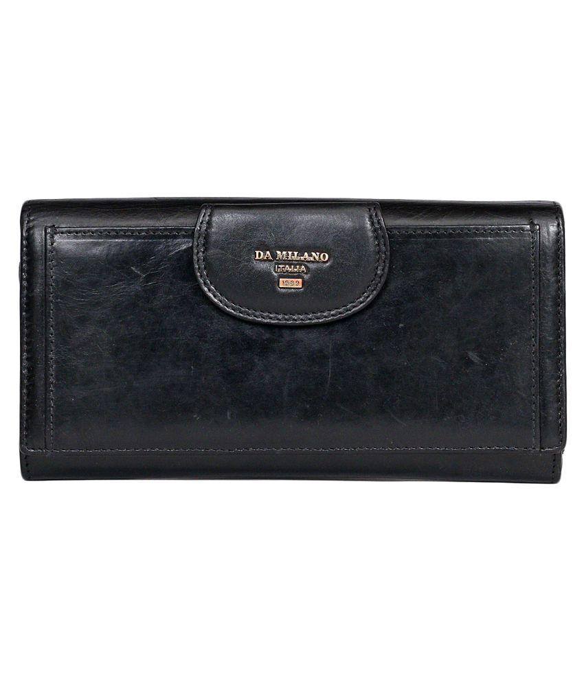 Da Milano Black Wallet