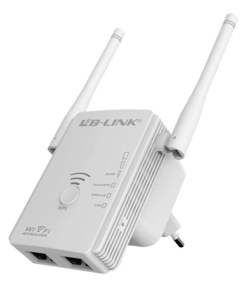 Lb-Link LB-LINK 300 Mbps Wi-Fi Range Extender & Repeater 300 RJ45 White