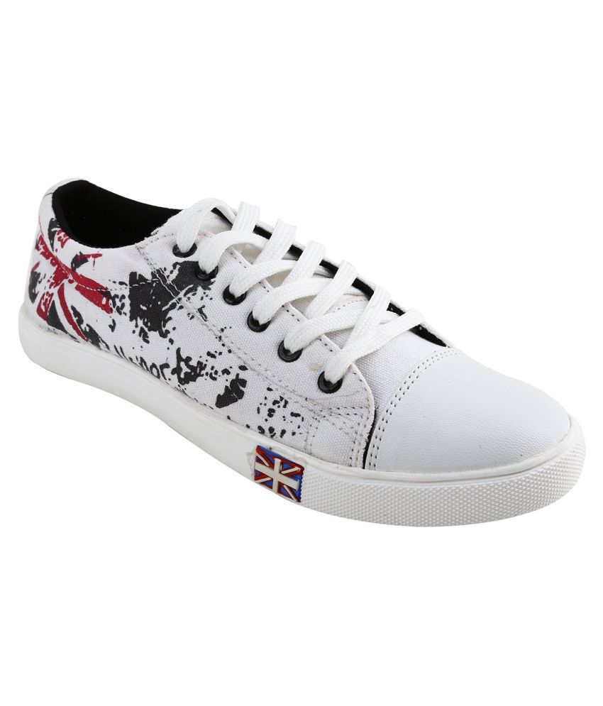 Aadi Sneakers White Casual Shoes