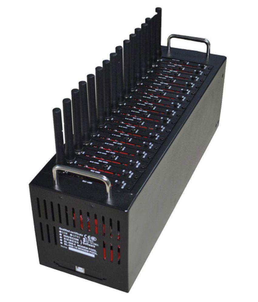 Lintratek Siemens 16 Port Modem Tc35i 3200 RJ11 Black