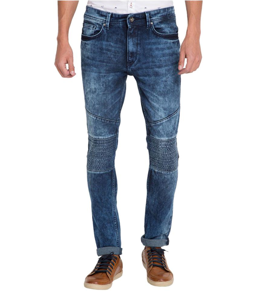 Locomotive Blue Slim Jeans