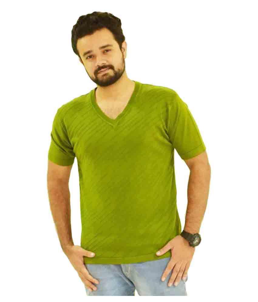 Oldberri Green Round T-Shirt