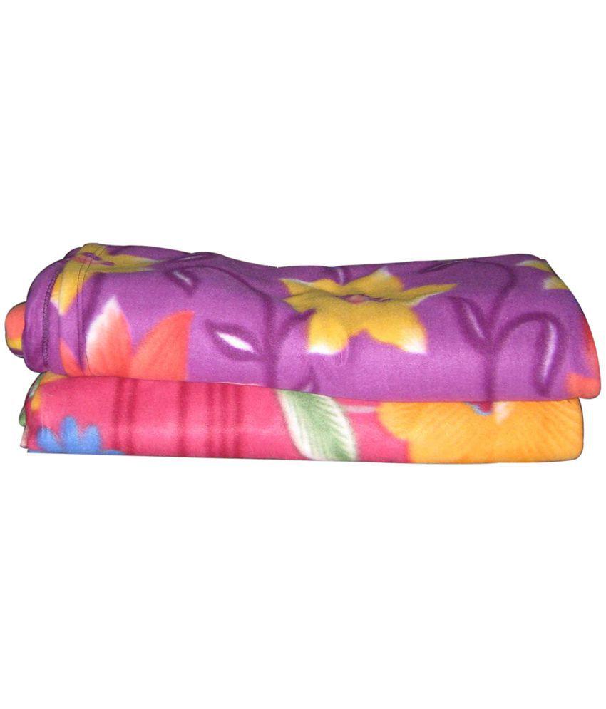Spangle Double Polar Fleece Blanket