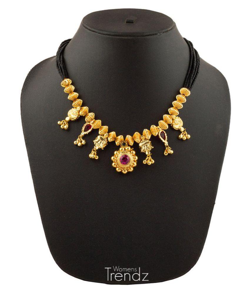 Womens Trendz 9k Yellow Gold Mangalsutra
