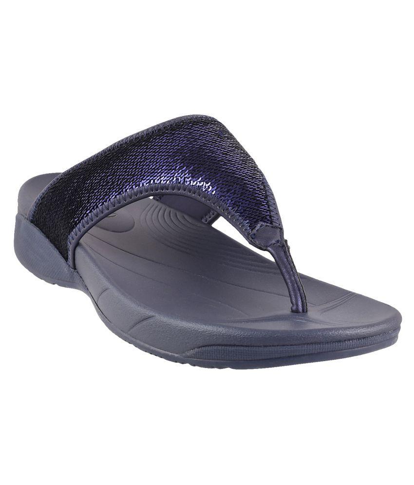 METRO NAVY Slippers