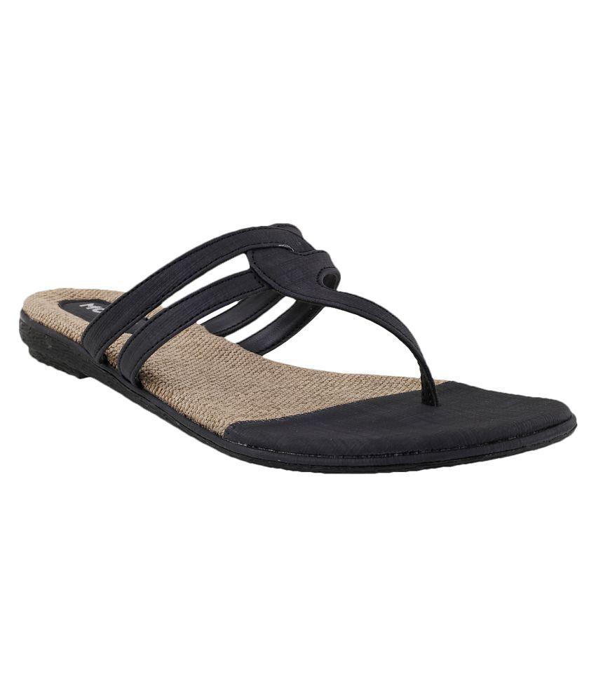 MOCHI BLACK Slippers