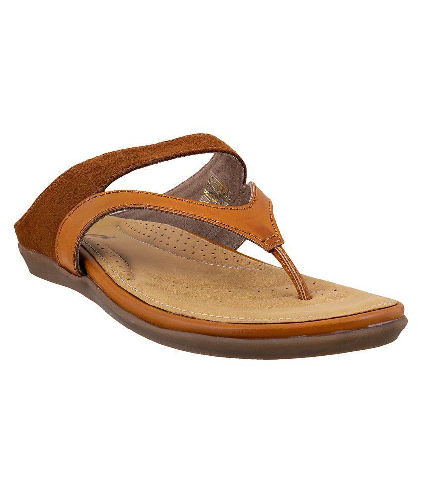 MOCHI TAN Slippers