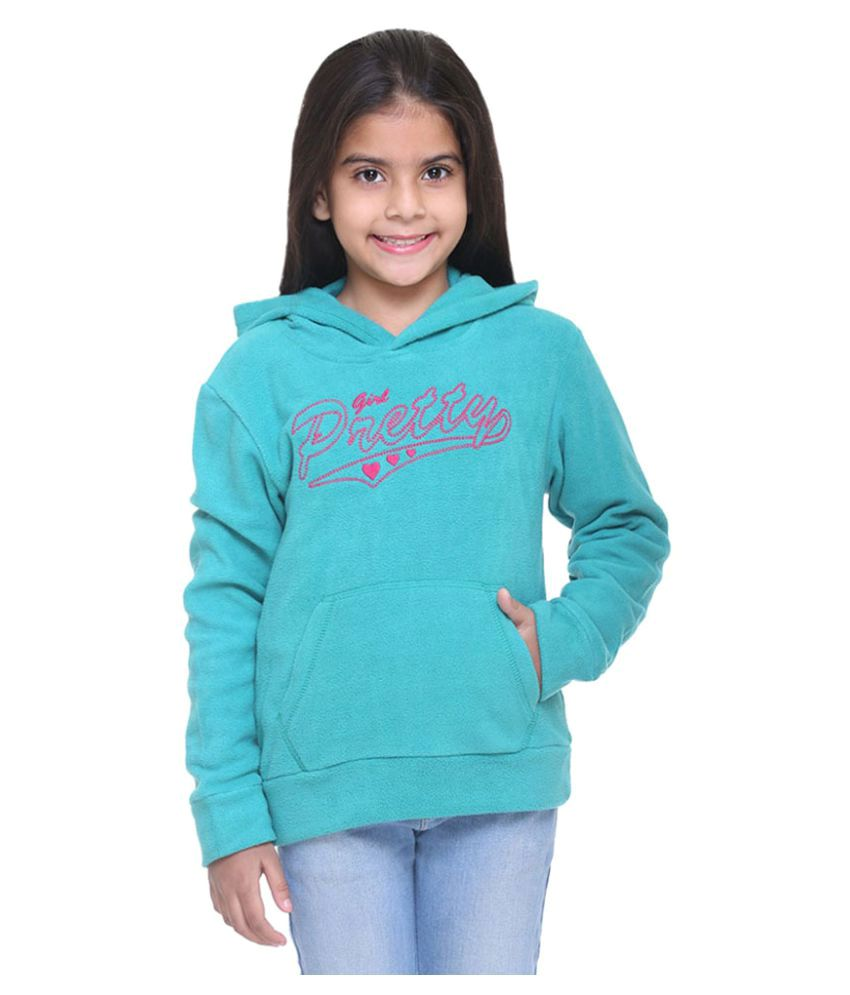 Kids-17 Turquoise Fleece Sweatshirt