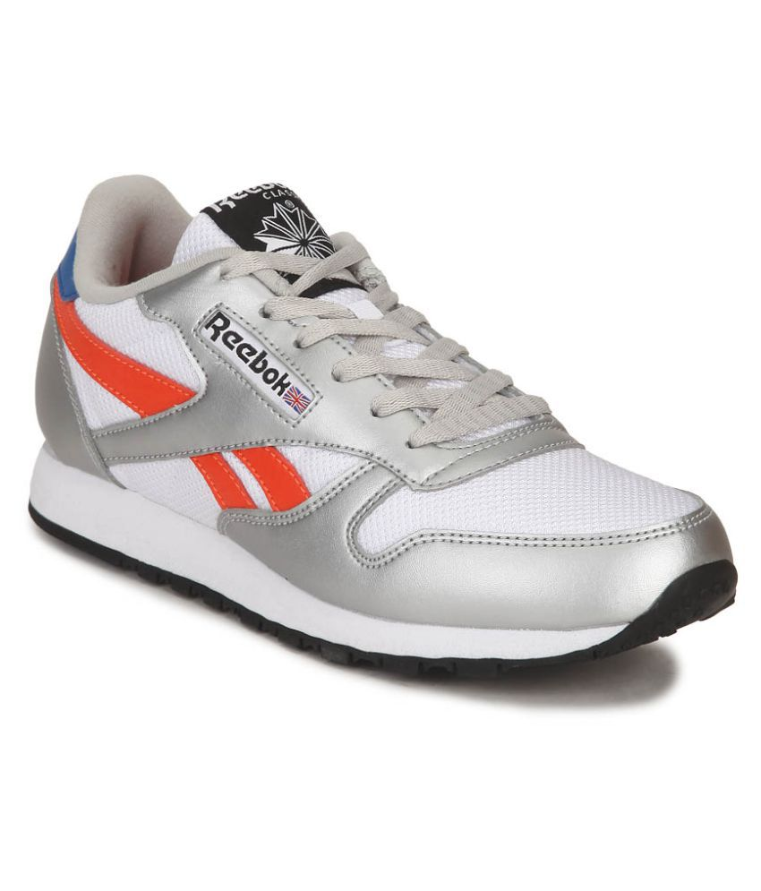 76bc8d83d557b Reebok White CLASSIC PROTONIUM W LP Sneakers Price in India- Buy ...