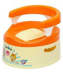 Harry & Honey Orange Baby Potty Seat