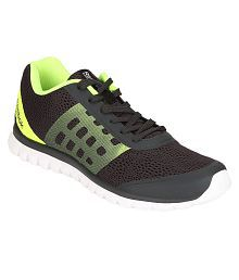 Reebok Sublite Smooth Black Running Shoes