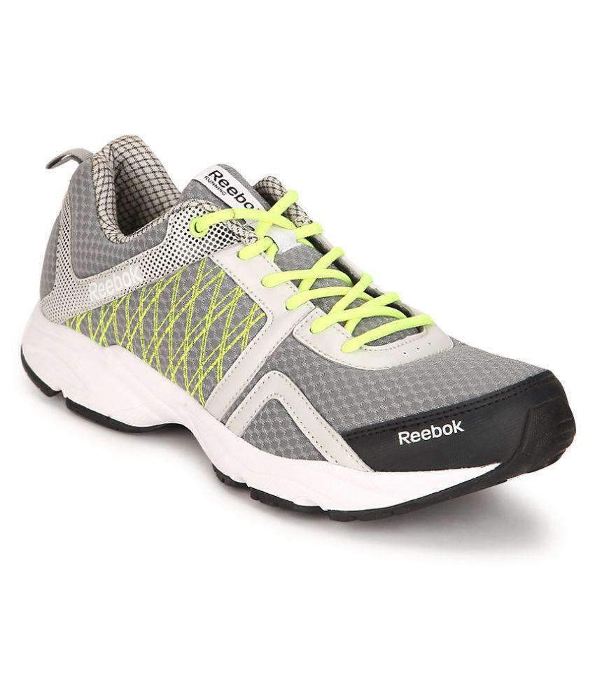 aeedf8f11ba77f Reebok Smooth Speed Gray Running Shoes - Buy Reebok Smooth Speed ...