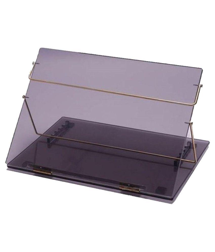 rasper acrylic writing desk standard size 21x15 inches