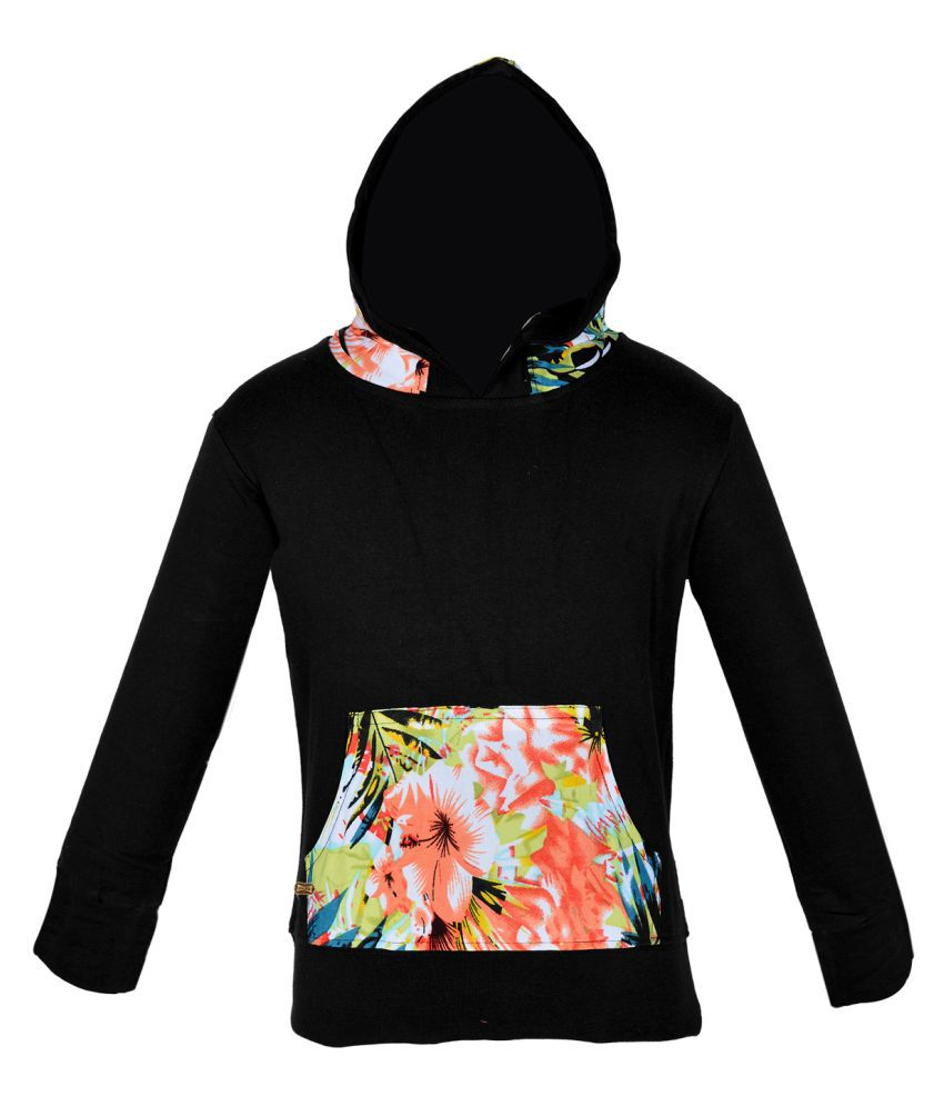 Gkidz Black Hooded Sweatshirt
