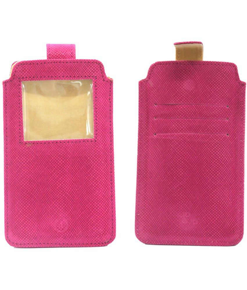 Apple iPhone 5C Holster Cover by Jojo - Pink