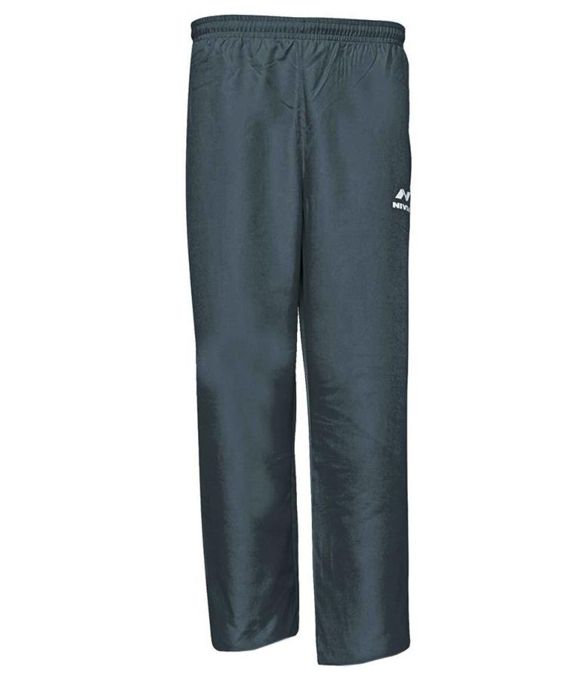 Nivia Black Bottomwear for Men
