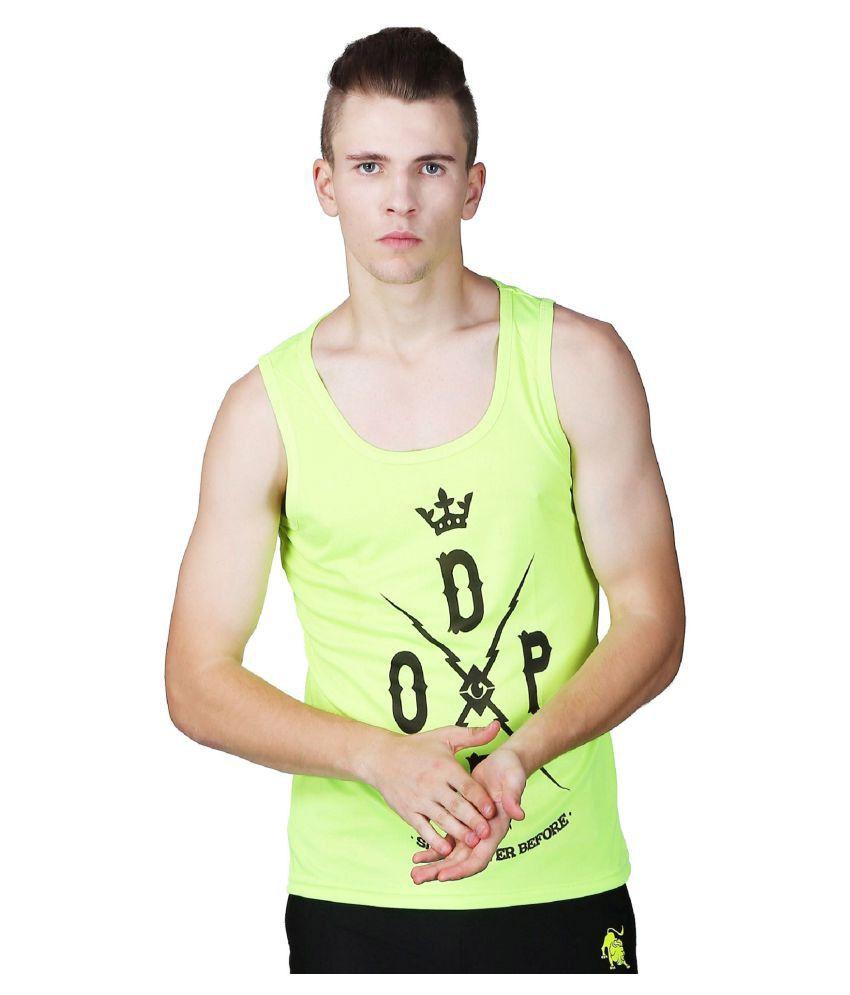 L'appel Du Vide Green Polyester T Shirt