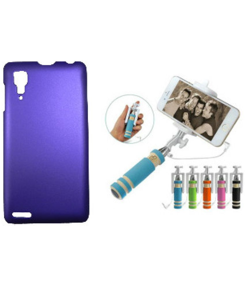 Lenovo P780 Cover by Toppings - Purple
