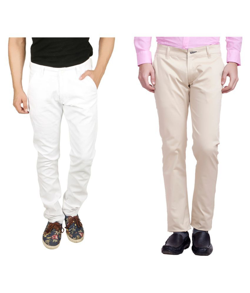 Nimegh Multi Slim Flat Trouser