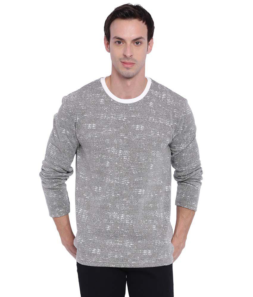 Deezeno Grey Round T-Shirt