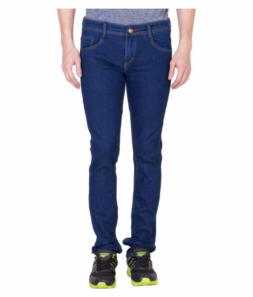 Maxxone Blue Regular Fit Jeans