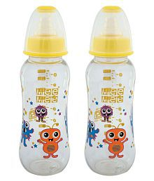 Mee Mee Multi-Colour Feeding Bottle - Pack Of 2