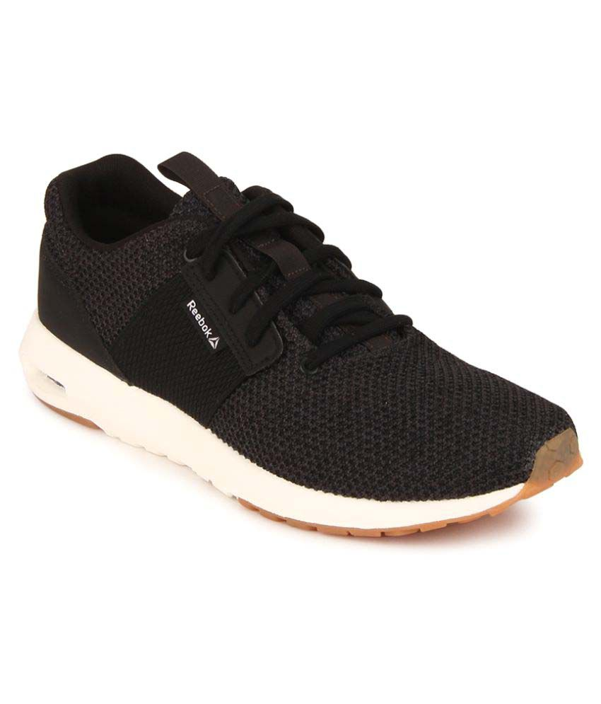 Reebok Streetscape Sporty Black Casual Shoes - Buy Reebok ...