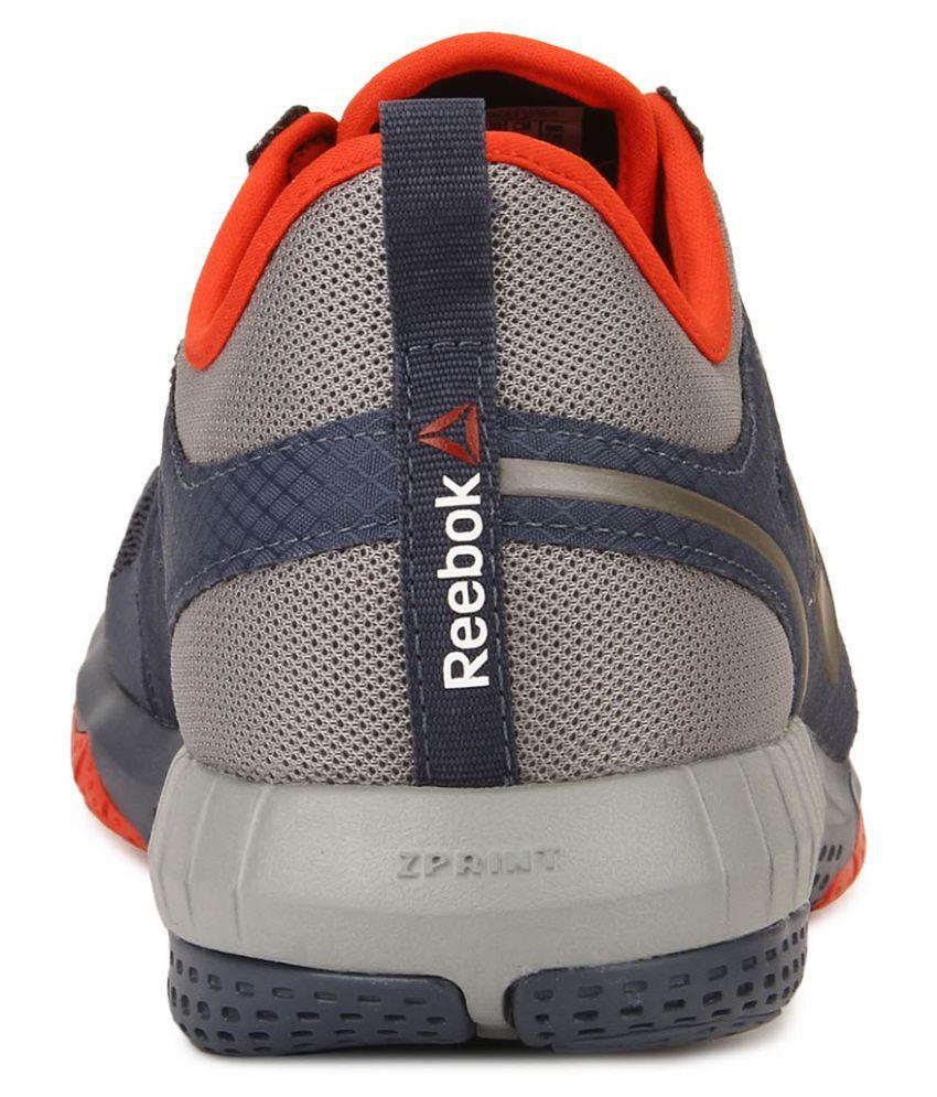 Reebok Zprint 3D Gray Running Shoes - Buy Reebok Zprint 3D Gray ... cd2f15853