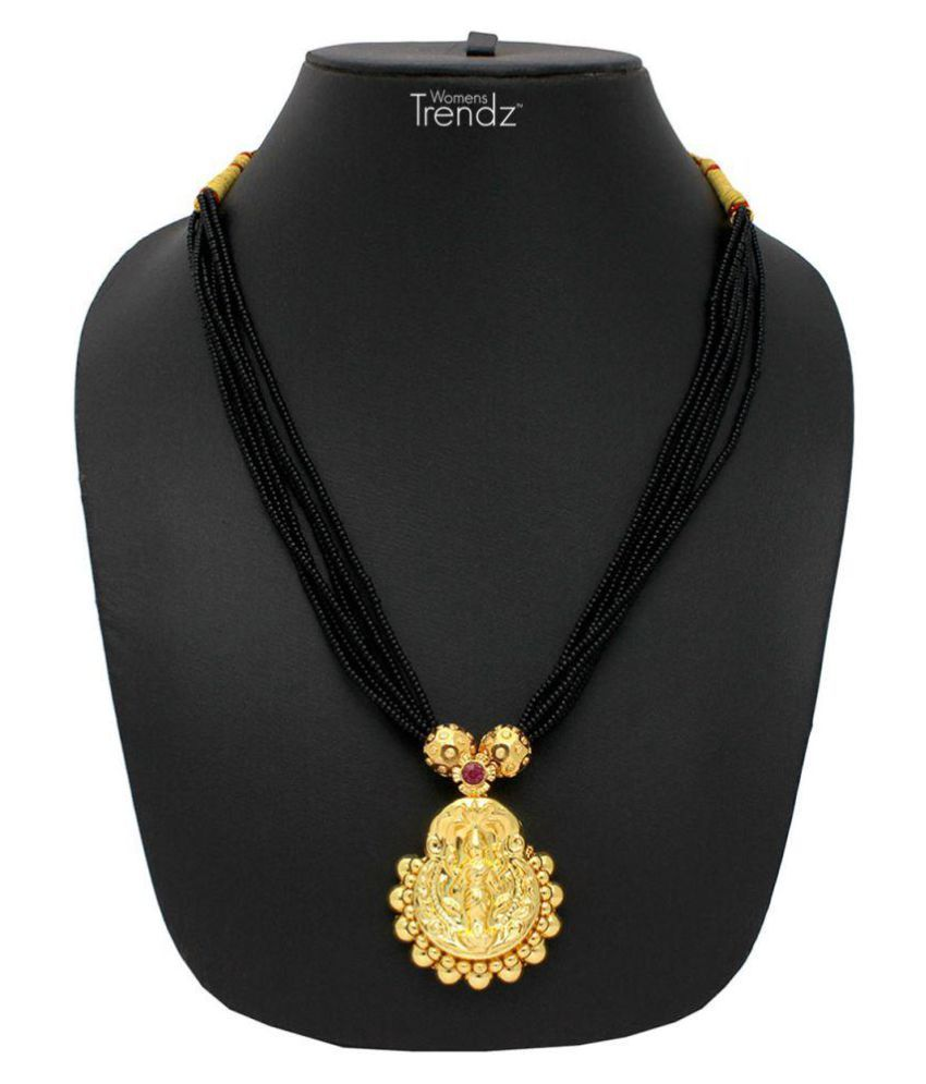Womens Trendz 24K Gold Plated Alloy Mangalsutra