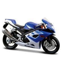 Maisto Multicolor Suzuki Gsx R1000 Bike