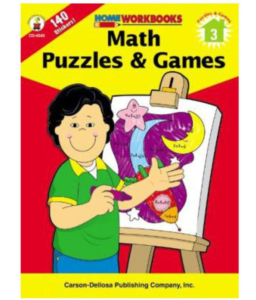 Math Puzzles & Games, Grade 3 (Home Workbooks): Buy Math Puzzles ...