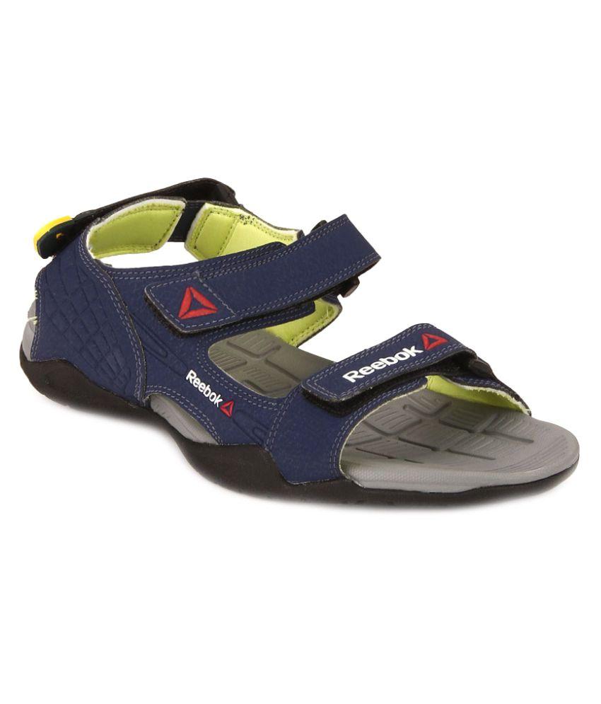 048eaf87bebbec Reebok ADVENTURE Z SUPREME Blue Floater Sandals - Buy Reebok ADVENTURE Z  SUPREME Blue Floater Sandals Online at Best Prices in India on Snapdeal