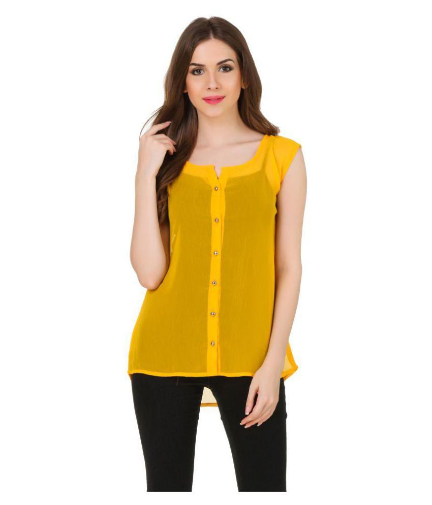Swagg India Poly Georgette Shirt