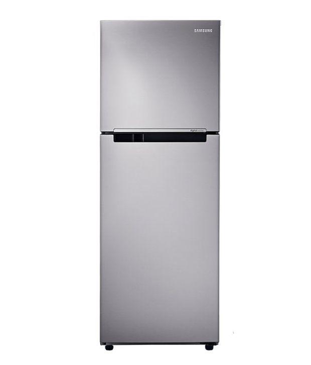 Samsung 253 Ltr 3 Star RT28K3043S8/HL Double Door Refrigerator [with Digital Inverter] - Elegant Inox
