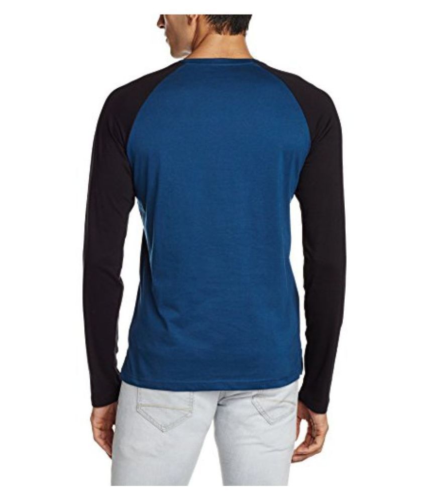 Locomotive Blue Henley T-Shirt