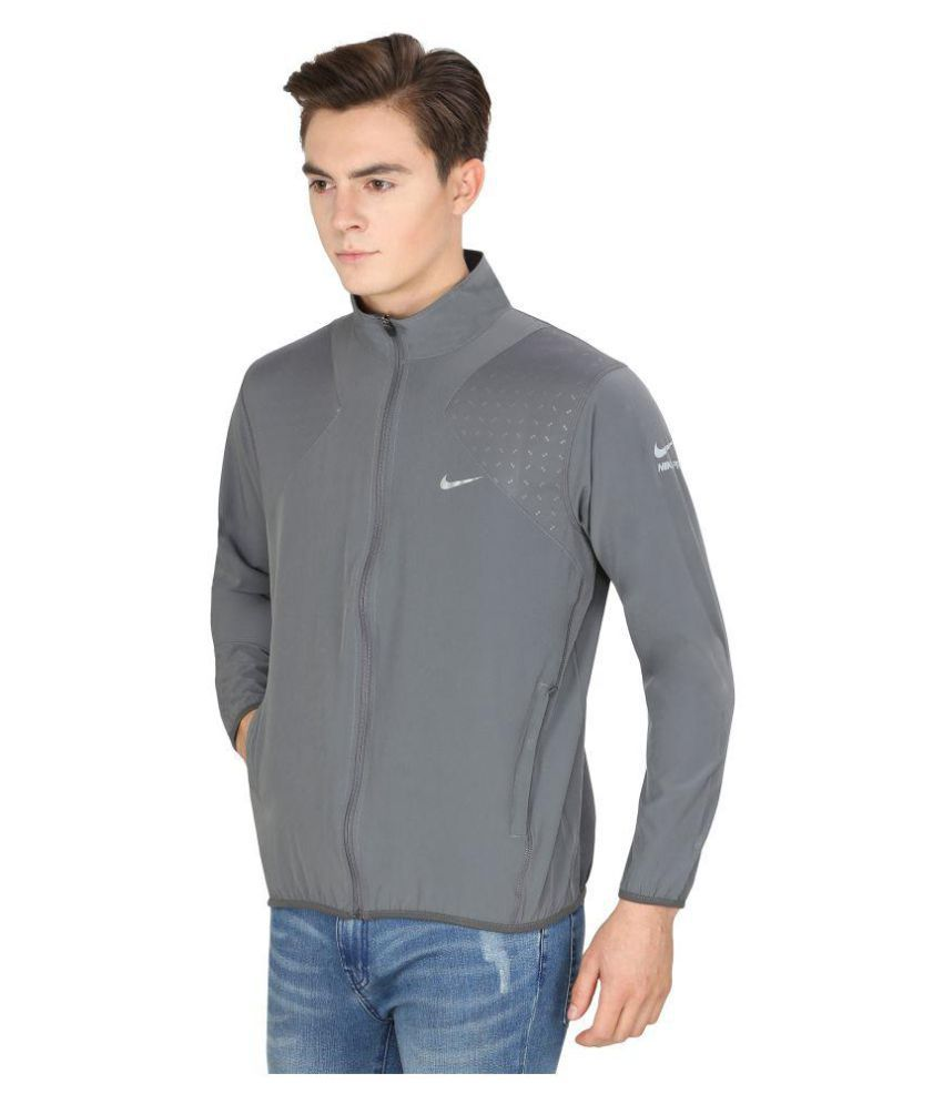 d7b7ecd4a Nike Grey Casual Jacket - Buy Nike Grey Casual Jacket Online at Low Price  in India - Snapdeal