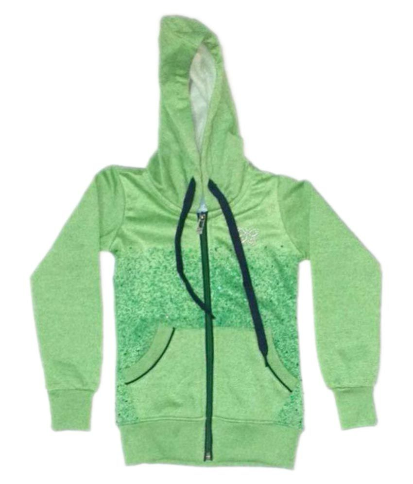 Cuddlezz Lime Green  Sweatshirt