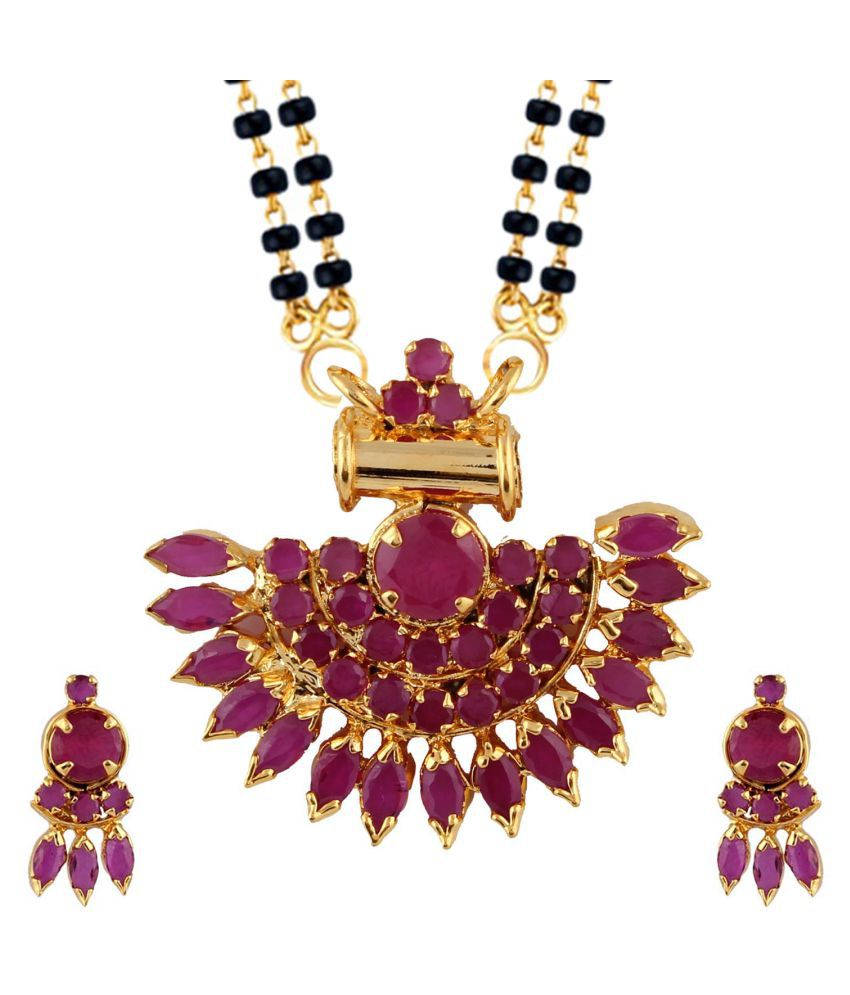 Parinaaz CZ Mangalsutra Set for Women