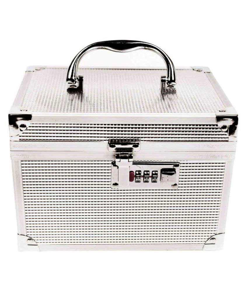 Bonanza Silver Aluminum Jewellery Box