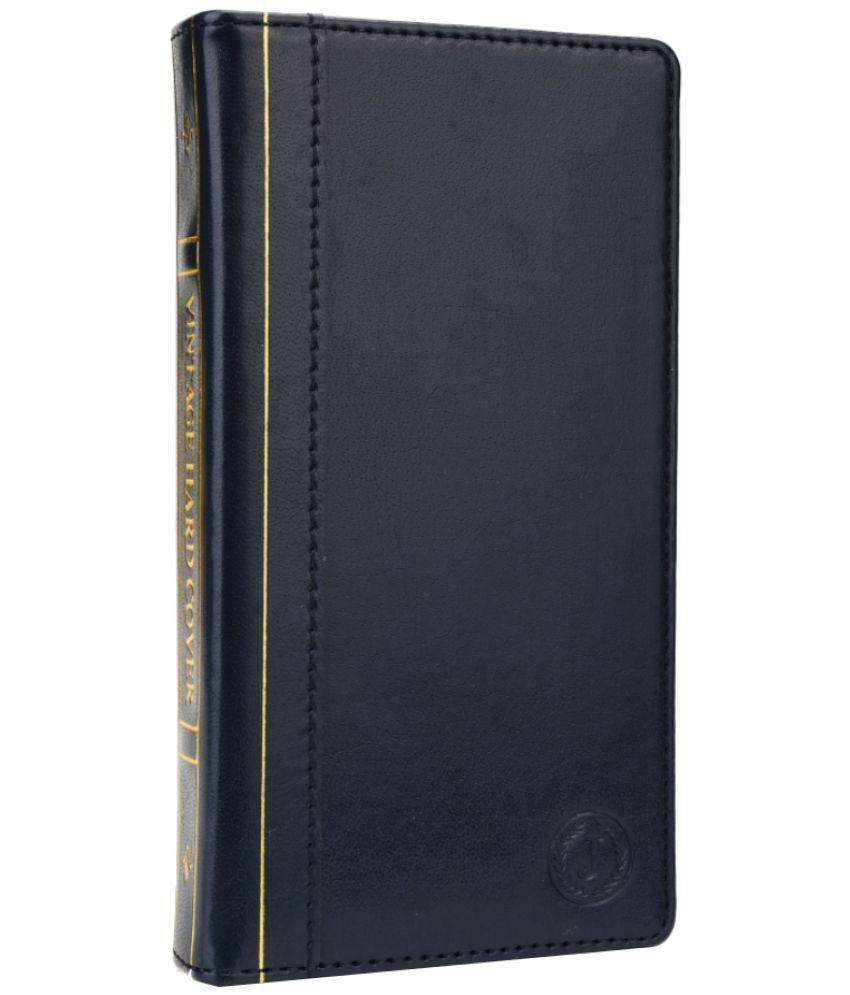 Lenovo A7010 Flip Cover by Jojo - Blue