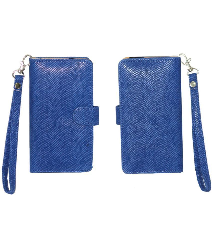 Panasonic Eluga A Holster Cover by Jojo - Blue