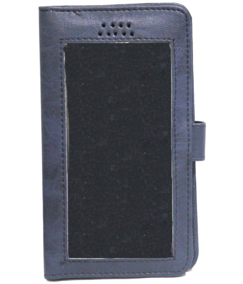 Panasonic Eluga I3 Holster Cover by Jojo - Blue