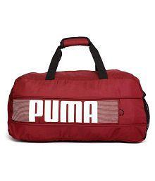Puma Red Duffle Bag
